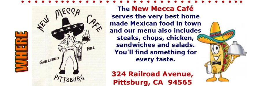 Dine & Donate at the New Mecca. Monday, March 5, 2018.
